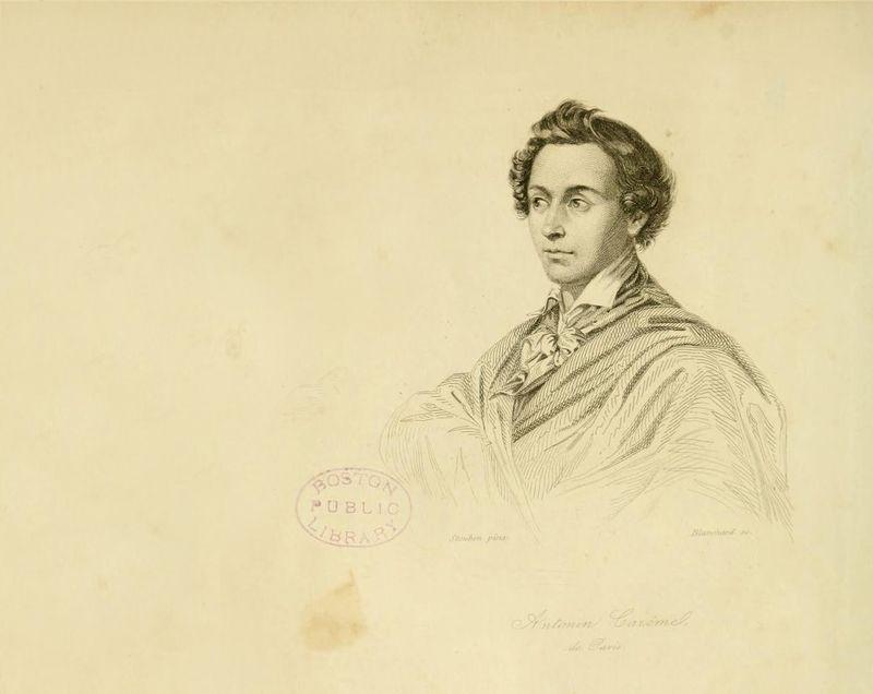 de Steuben, Charles. Marie-Antoine Carême