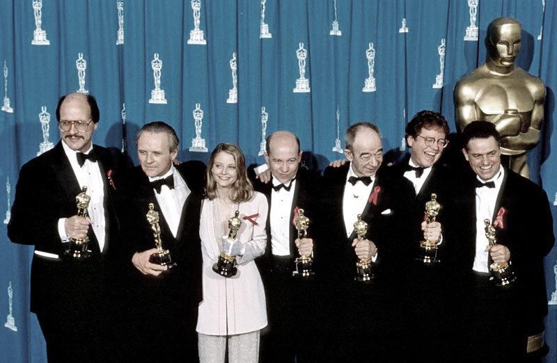 Das Schweigen der Lämmer an der Oscarverleihung (Bild: John Barr/Liaison)