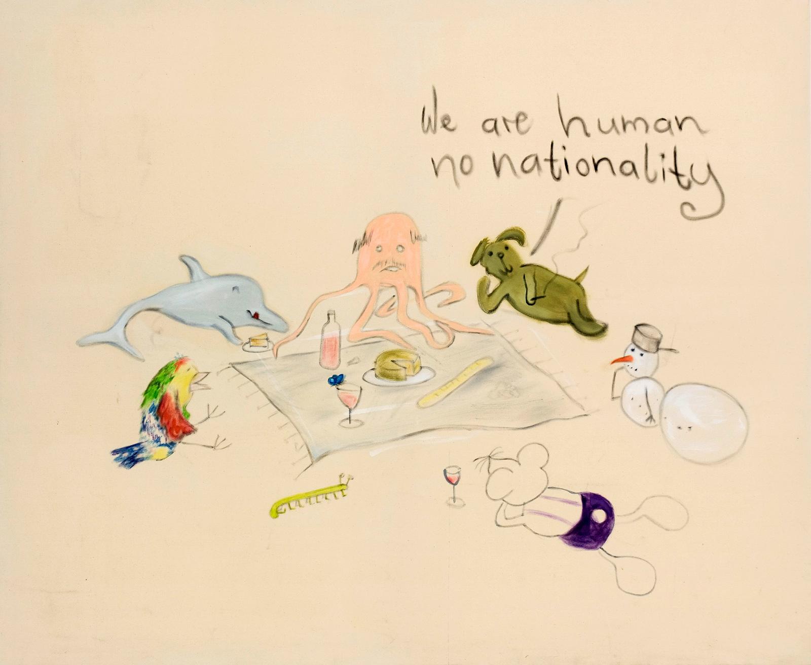 Sochacki, Paul. 2015. Smoking KillsÖl auf Leinwand, 140 x 170 cm.